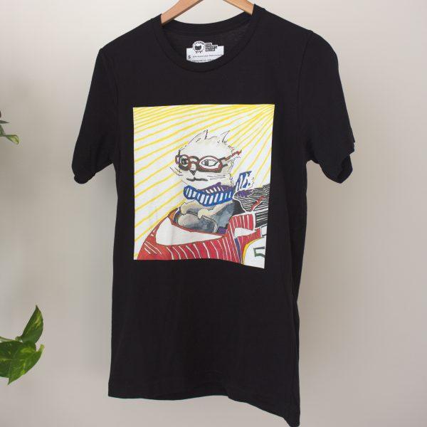 Racecar Cat T-Shirt