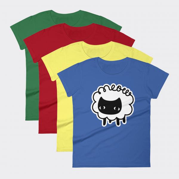 The Sheep's Meow Ladies T-Shirt